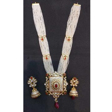 22 kt gold jodhpuri antique set by