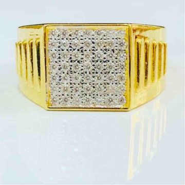 22kt exclusive gents engagement ring by Prakash Jewellers