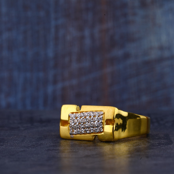 Mens Gold Ring-MR365