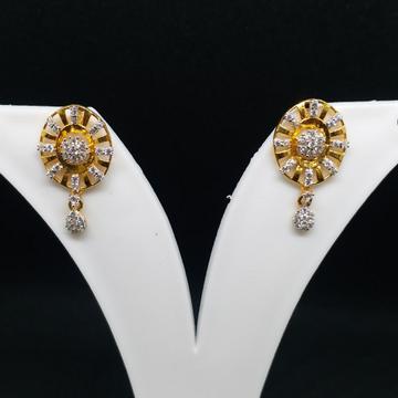 22 kt 916 gold earring by Zaverat