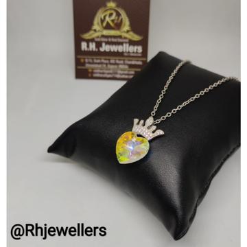 925 starling silver classic ladies pendant chain RH-CH342