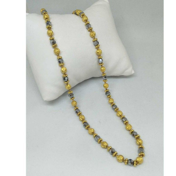 22 kt gold vertical mala by
