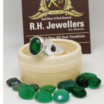 SILVER budh ring RH-SR601