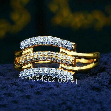 Exclusive Cz Fancy Ladies Ring LRG -0195