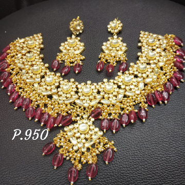 Designer bridal necklace#340