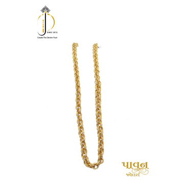 22KT / 916 Gold Special hollow chain for Men CHG0149