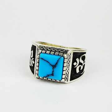 92.5 sterling silver turkish ring ml-115