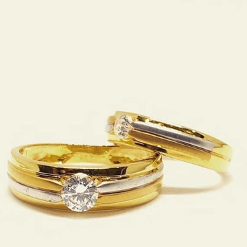 916 Gold Couple Ring RH-CP012
