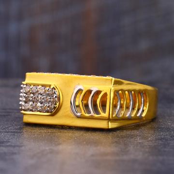 22CT CZ Gold men's Ring MR712