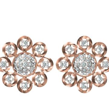 Diamond earrings, by