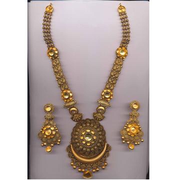 22KT Gold Antique Long Rani Har