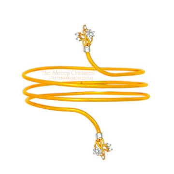 916 Gold Pain Spiral Baju Bandh-005