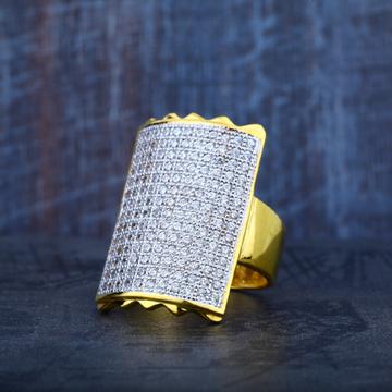 Mens 22K Gold Long Fancy Ring-MR28