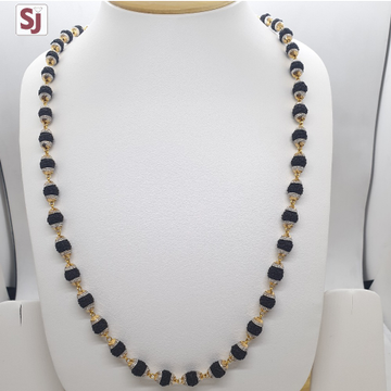 Rudraksh Mala Black RMG-0002 Gross Weight-29.460 Net Weight-23.220