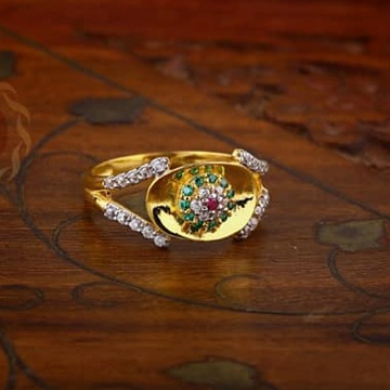 916 Gold Ladies Ring LR-0029
