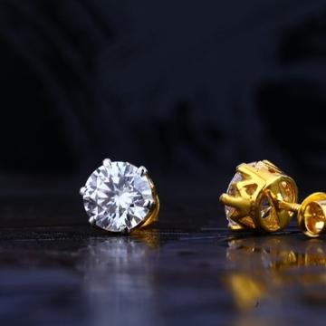 22 carat gold fancy classical ladies earrings RH-L...