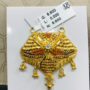 22 carat gold ladies mangalsutra RH-MN758