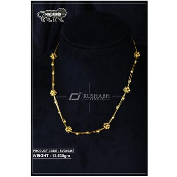 22 Carat 916 Gold Ladies swarovski Moti mala svg0028