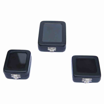 Transparent Solitaire box