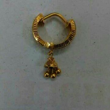 18kt Gold Fancy Earrings by Vipul R Soni