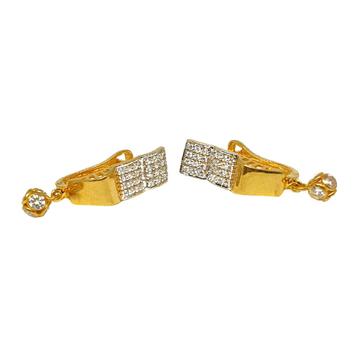 18K Gold Designer Earrings MGA - BLG0546