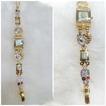18k Ladies Exclusive Gold Watch G-2220