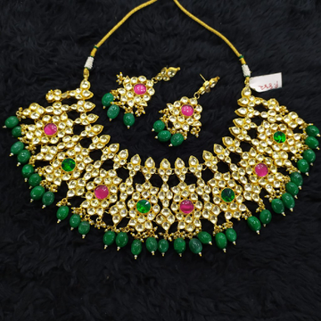 Beautiful colour stone necklace#771