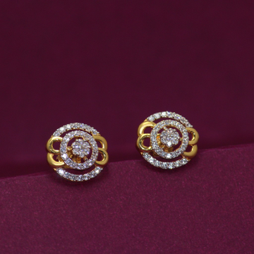 22KT Hallmarked Exclusive Earring by Simandhar Jewellers