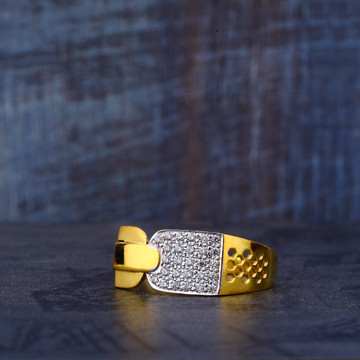 916 Gold Classic Ring MR489