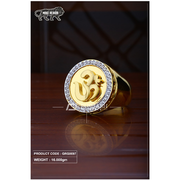 22 Carat 916 Gold Gents heavy ring grg0097 by