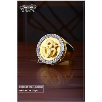 22 Carat 916 Gold Gents heavy ring grg0097