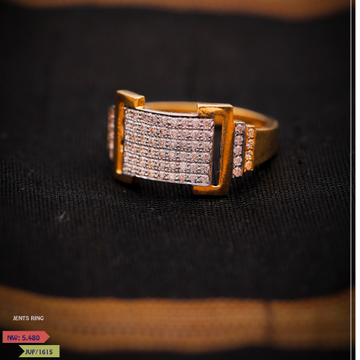 CZ ANTIQUE GENTS RING