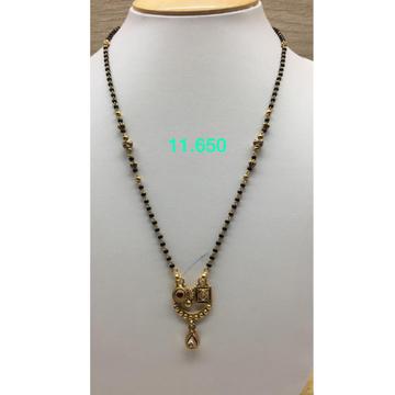 22KT Gold Antique Kidiya Ser Mangalsutra IO-M04