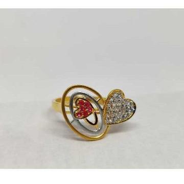 916 Ladies Fancy Gold Ring Lr-17096