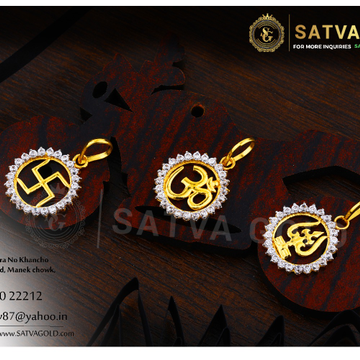 916 gold pendants SGP-0015
