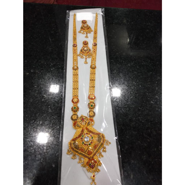 Fancy Mangalsutra With Earrings by Prabhat Jewellers