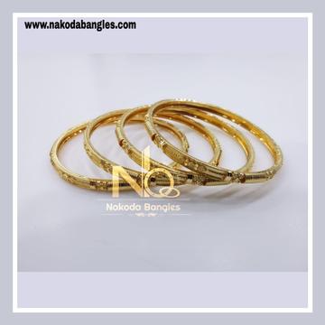 916 Gold Patra Bangles NB - 841