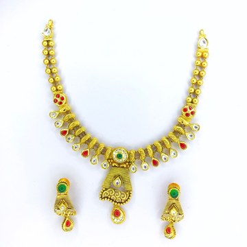 FANCY ANTIQUE GOLD SET FOR LADIES by