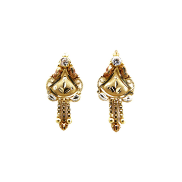 22K Gold Fancy Earring by