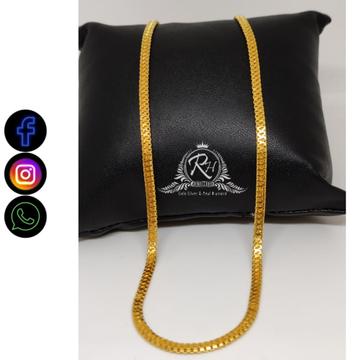 22 carat gold fancy plain chain RH-CH414