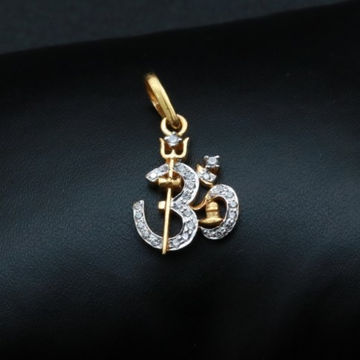 916 OM Diamond Pendant PN5719