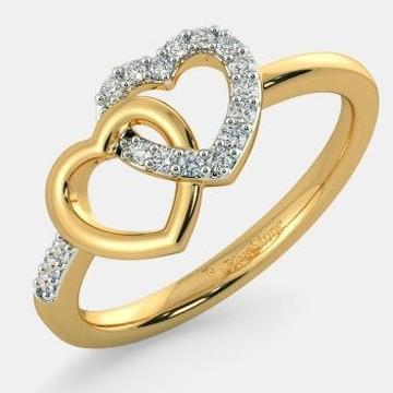 916 hm heart Design ladies ring