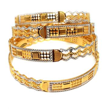 One gram gold forming bangles mga - gf0028