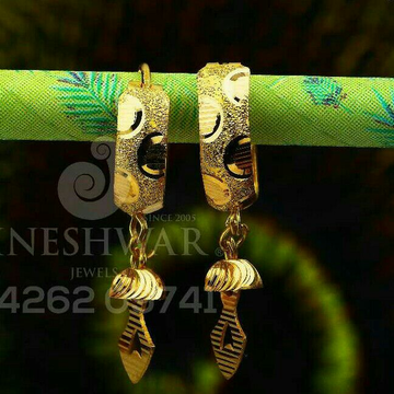 18kt Fancy Plain Gold Bali ABG - 0221