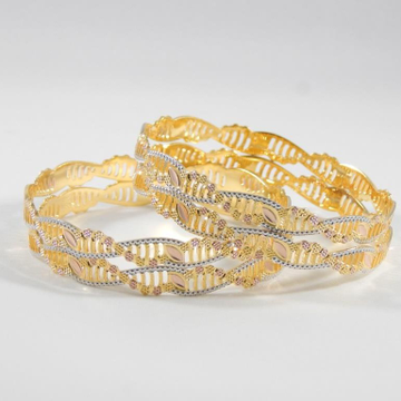 22Kt Yellow Gold Laiba Bangles For Women