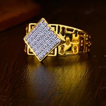 916 Gold Gents Ring 0013