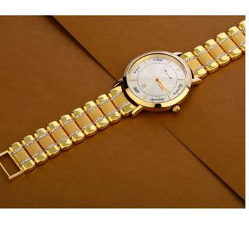 916 Gold Hallmark Gorgeous Gentlemen's Watch MW32