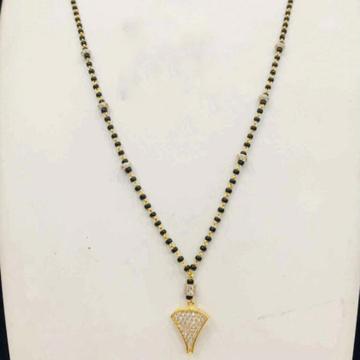 22KT/ 916 Gold Fancy single triangle Pendant manga... by