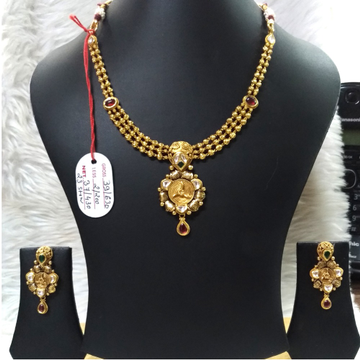 22KT Gold Fancy Necklace Set