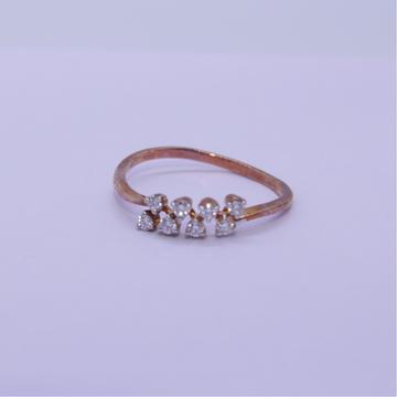 18K gold diamond ring agj-lr-322